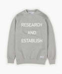 SLOGAN SWEATSHIRT (GREY)