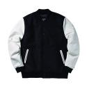 Unlimit - Base Stadium Jacket Ver2 (Black/White)