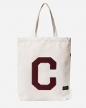 CANVAS C LOGO ECO BAG BURGUNDY