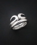 O KONG-1 STERLINGSILVER DOUBLE RING