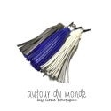 오뜨르 뒤 몽드(AUTOUR DU MONDE) LEATHER TASSEL EARCAP 1_LONG
