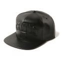 크리틱 RCH LOGO LEATHER SNAPBACK (BLACK)