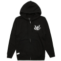프리미티브(PRIMITIVE) 15 SP PRIMITIVE UNITED ZIP HOODIE BLACK