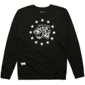 프리미티브(PRIMITIVE) 15 SP PRIMITIVE ALLEY CAT CREWNECK BLACK