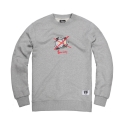 파퓰러너드(POPULARNERD) Society Crewneck gray