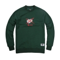 파퓰러너드(POPULARNERD) Society Crewneck green