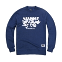 파퓰러너드(POPULARNERD) Supertramp Crewneck blue