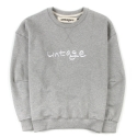 언티지() UTT 80 untage sweat shirts_grey(남여공용)
