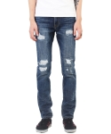 크래프티드(KRAFTED) Distressed & Repaired Jeans
