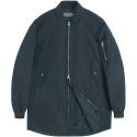 M#0536 spring half ma-1 jacket (navy)