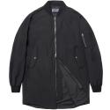 M#0537 spring half ma-1 jacket (black)