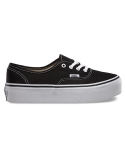 [Vans] 반스 어센틱 / VN-0YPP1WX / AUTHENTIC PLATFORM(CANVAS) BLACK TRUE WHITE
