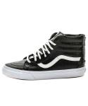 [Vans] 반스 스케이트 하이 / VN-0XH9FCQ / SK8-HI Zip CA(CROC LEATHER) BLACK