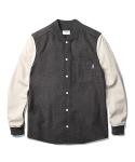 Dion Varsity Shirts Jacket Grey