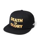Death glory 6 panel cap black