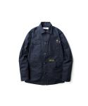 Canvas chore jacket navy