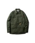Canvas chore jacket olive