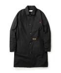 Canvas shop coat black