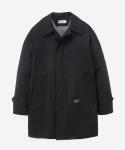 15 S/S BALMACAAN COAT BLACK