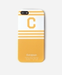 C LOGO iPHONE 5 CASE YELLOW