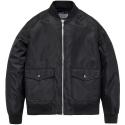 M#0534 ma-1 heavy twill jacket (black)