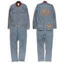 UTD 901 denim jumpsuit_blue(남여공용)