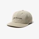 NEW WAVE 6P CAP BEIGE