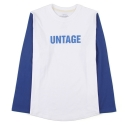 언티지() UBT 04 untage long sleeve_blue(남여공용)