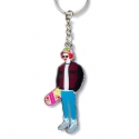 크리틱 PSYCHO BUTCHER KEY RING (MULTI)