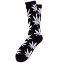 허프 ESSENTIALS PLANTLIFE SOCKS (BLACK/WHITE)