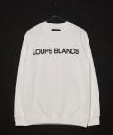 15 S/S Loups Blancs Logo Sweatshirt - White
