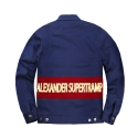 파퓰러너드(POPULARNERD) Supertramp Single jacket blue