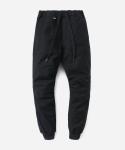 커버낫 15 S/S COTTON JOGGER PANTS BLACK