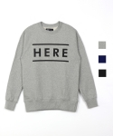 퍼블릭아이콘(PUBLIC ICON) HERE sweatshirts (3color)