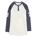 UTT 83 thirtyseven henlyneck long sleeve_navy(남여공용)