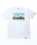 칼하트WIP S/S DETROIT SKYLINE T-SHIRT WHITE/MULTLCOLOR