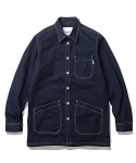 에스피오나지(ESPIONAGE) Brice Shop Shirt Jacket Navy