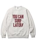YCSL OG Logo Sweat Shirt Oatmeal