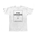 크룩스앤캐슬(CROOKS & CASTLES) CROOKS & CASTLES Mens Knit Crew T-Shirt - No.38 Crooks