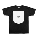 크룩스앤캐슬(CROOKS & CASTLES) CROOKS & CASTLES Mens Knit Crew T-Shirt - Core Shield