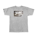 크룩스앤캐슬(CROOKS & CASTLES) CROOKS & CASTLES Mens Knit Crew T-Shirt - Bricks Core Logo