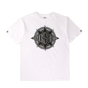 크룩스앤캐슬(CROOKS & CASTLES) CROOKS & CASTLES Mens Knit Crew T-Shirt - Crooks Gang
