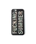 Cellphone cover fucking summer (iPhone 6) black/camo
