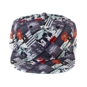 크룩스앤캐슬(CROOKS & CASTLES) Mens Woven Snapback Cap - Killa
