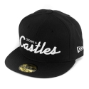 크룩스앤캐슬(CROOKS & CASTLES) Mens Woven Fitted Cap - Team Crooks