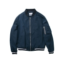 레이어 유니온(LAYER UNION) LIGHT MA-1 JACKET NAVY