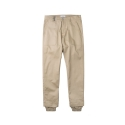 LAYERED BAND PANTS BEIGE