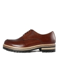 GLA 20723 WS U-TIP DERBY -BROWN-