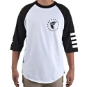 페이머스 에스에이에스(FAMOUS S.A.S) White Out Raglan Tee