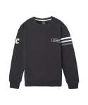 스테레오 바이널즈 콜렉션(STEREO VINYLS COLLECTION) [Stereo x Musinsa] Gradient Sweatshirt (Black)